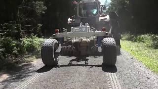 Erstellung von breiten und schmalen Wegen in einem Arbeitsgang