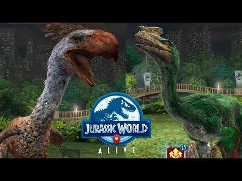Ужасающие птицы Jurassic World Alive