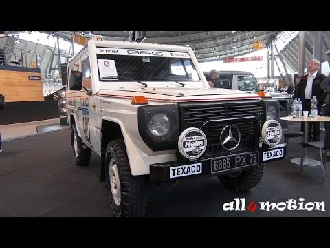1983 Mercedes 280G Paris Rally Replika Dakar Jacky Ickx