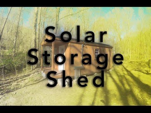 Solar Storage Shed