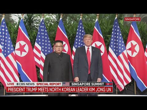 CBS News Special Report: President Trump Meets With Kim Jong Un In Historic Summit