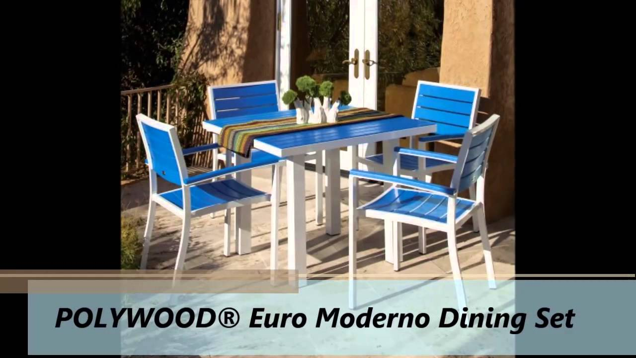 Premium Poly Patios : Outdoor Polywood Furniture - YouTube