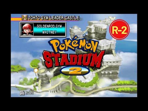 Pokémon Stadium 2 - Johto Gym Leader Castle - Goldenrod Gym [R-2]