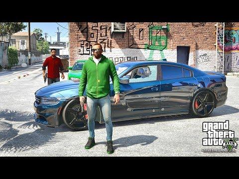GTA 5 REAL LIFE CJ MOD #26 - JUST SATURDAY!!!(GTA 5 REAL LIFE MODS/ THUG LIFE)
