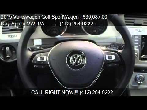 2015 Volkswagen Golf Sportwagen For Sale In Moon Township Youtube