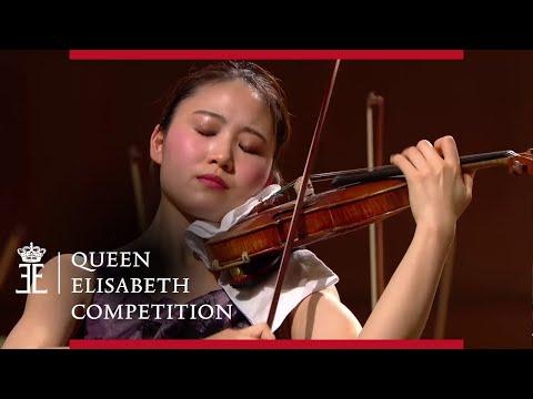 Brahms Violin Concerto in D major op. 77   Yukiko Uno - Queen Elisabeth Competition 2019