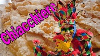Repeat youtube video Frappe o Chiacchiere Ricetta - Come Fare Dolci di Carnevale 2016