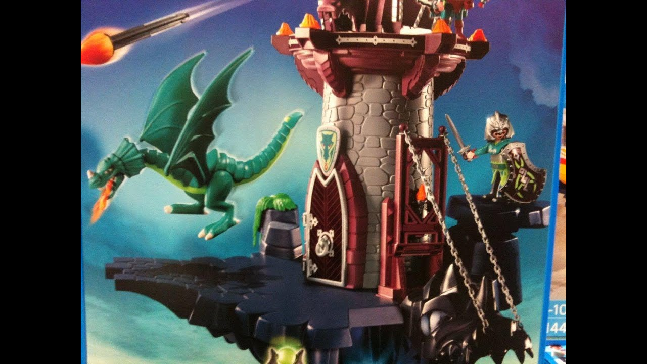 Playmobil chevalier youtube - Chateau chevalier playmobil ...