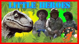 Little Heroes  32 - Baseball, Colored Balls, Nerf Guns, Bubble Gum & Dinosaurs w/ Adventure Kids