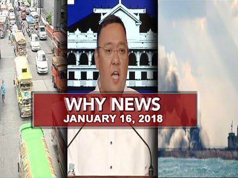 UNTV: Why News (January 16, 2018)