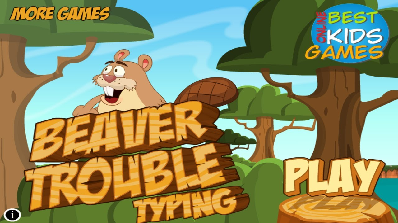 Worksheet Free Kid Typing Games beaver trouble typing save the baby free educational kids game game