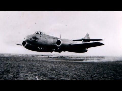 Gloster Meteor - The Only Allied Jet to Fight in WW2