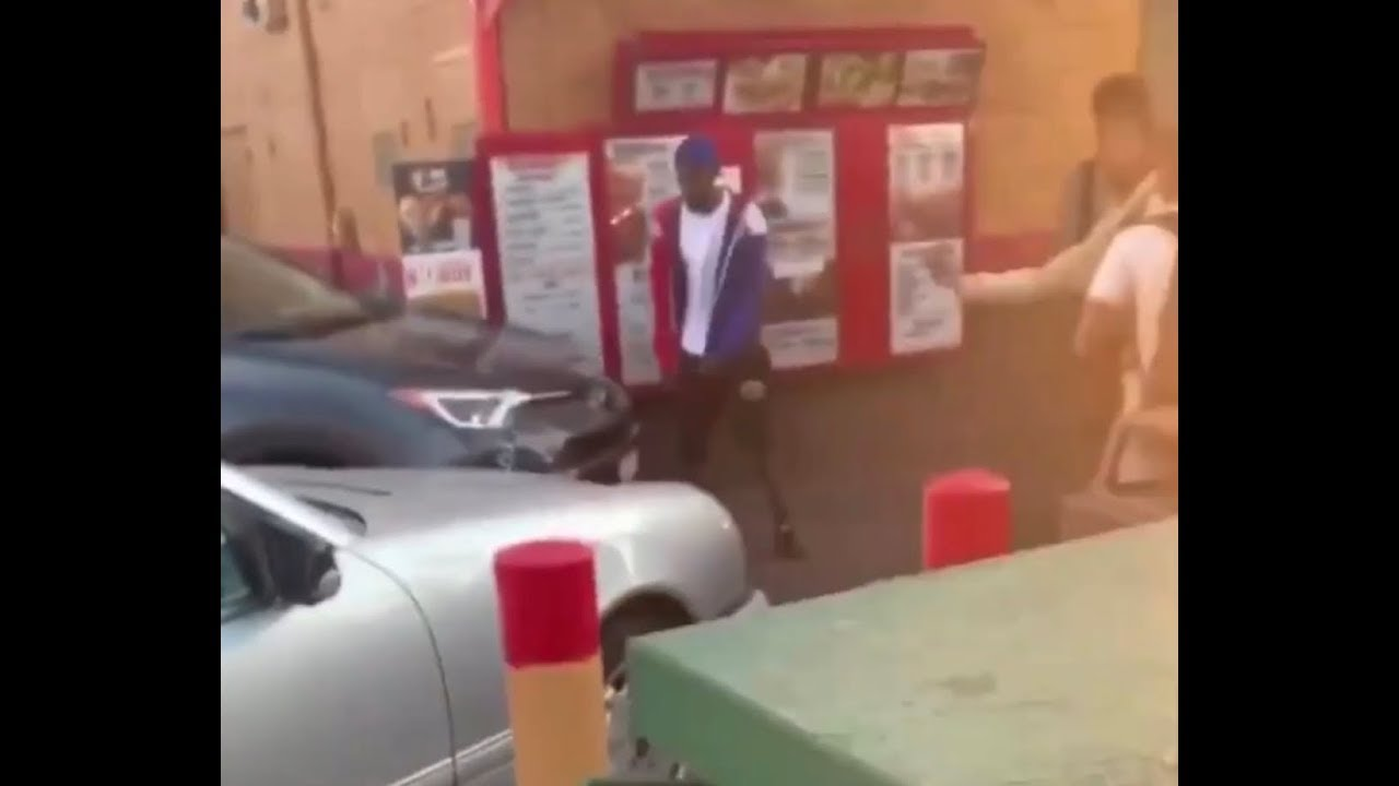 Customers at Popeyes drive thru get into fight over chicken sandwich