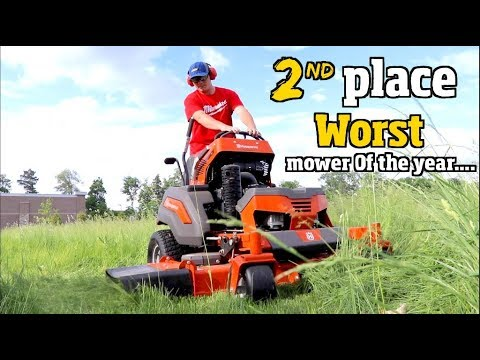 Best Lawn Mower of the Year 2019 Husqvarna, Toro Grandstand or Wright stander Z