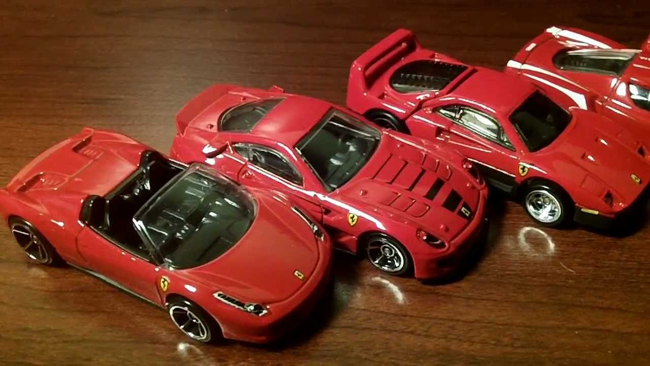 hot wheels ferrari customs youtube. Black Bedroom Furniture Sets. Home Design Ideas