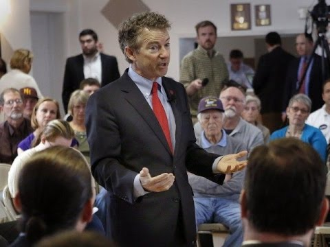 Rand Paul Visits New Hampshire On Presidential Campaign