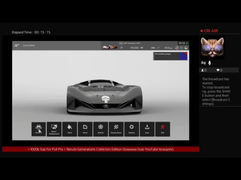 YourLivingGod's Live PS4 Pro  ( * Gran Turismo Sport Limited Edition Radio* TV ) Broadcast 13/03/201