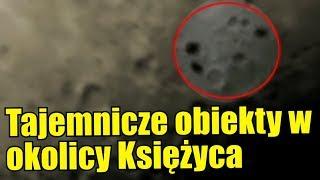 Astronom amator nagrał trzy dziwne obiekty w pobliżu Księżyca!