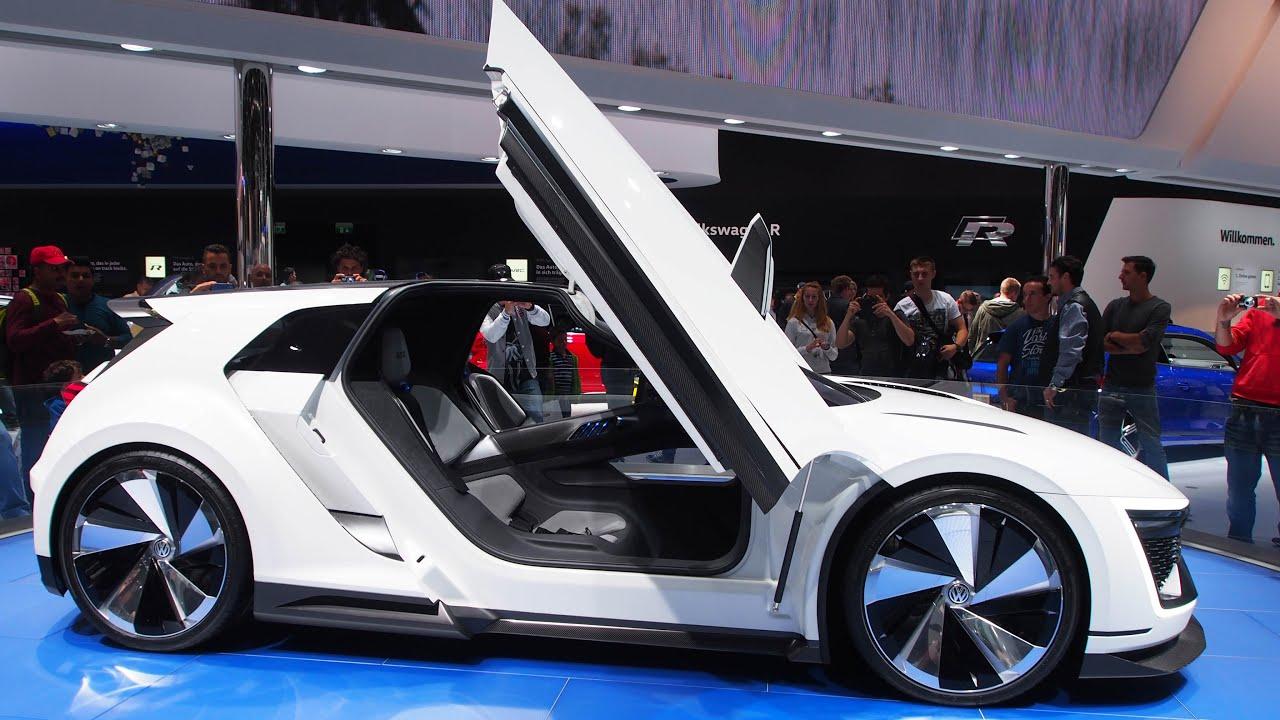 Volkswagen Golf Gte Sport Concept Hybrid Phev Exterior Walkaround
