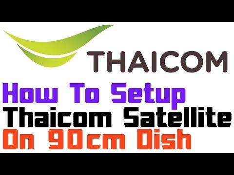 Thaicom Satellite Setup   On Ku Band Dish   Many Free Channels On FreeDish Reciever