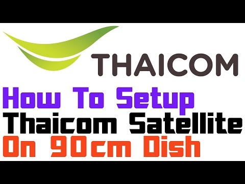 Thaicom Satellite Setup | On Ku Band Dish | Many Free Channels On FreeDish Reciever