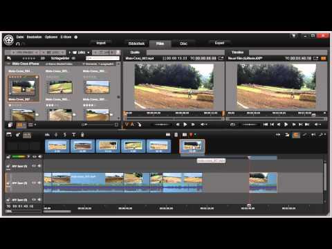 Storyboard in Pinnacle Studio 16 und 17 Video 35 von 114