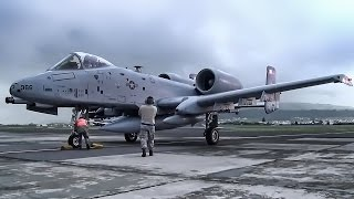A-10 Jets Enroute To Atlantic Resolve