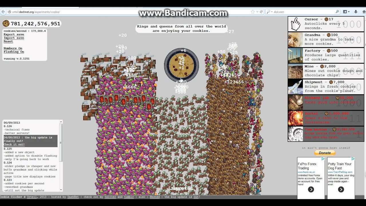 How to end cookie clicker