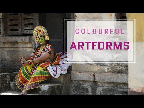 Vibrant Artforms Of Kerala