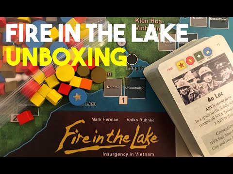 Fire in the Lake | Board Game | BoardGameGeek