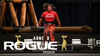 Women's Elephant Bar Deadlift | Rogue Record Breakers 2020