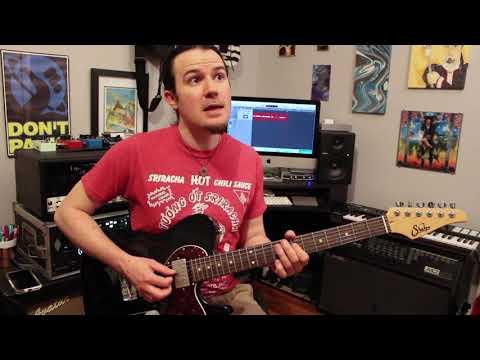 Tesla Love Song guitar solo lesson Weekend Wankshop 180