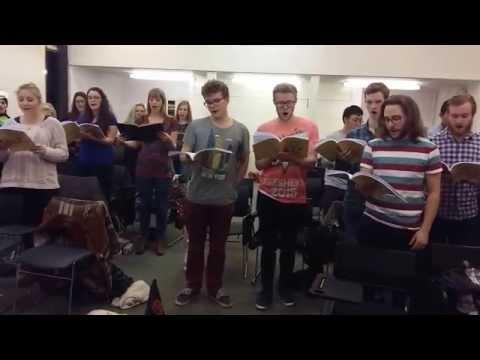Act I Finale Ruddigore Rehearsal