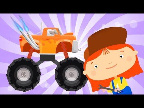 Мультфильм про машинки - Доктор Машинкова все серии - Видео онлайн