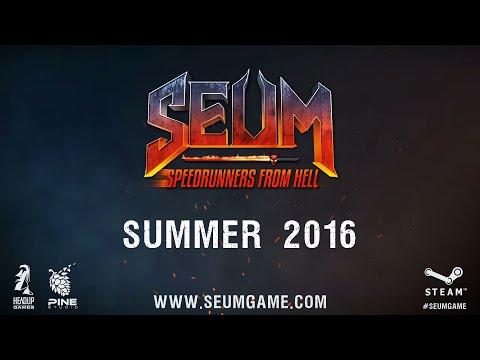 SEUM: Speedrunners From Hell - Announcement Trailer