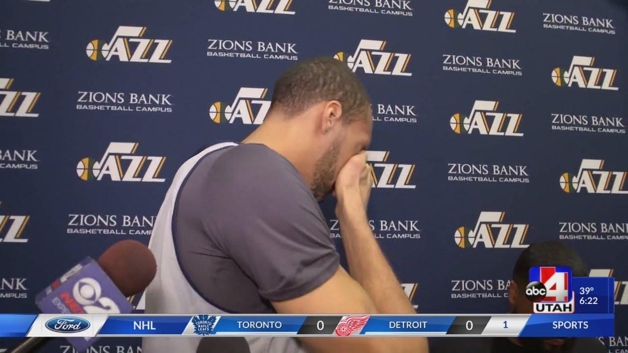 Rudy Gobert breaks down about All-Star snub