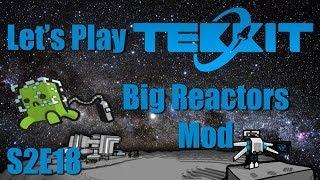 Let's Play Tekkit Main S02E18 - Big Reactors