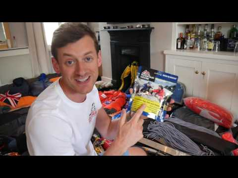 K2 Equipment List - Jake Meyer 2016