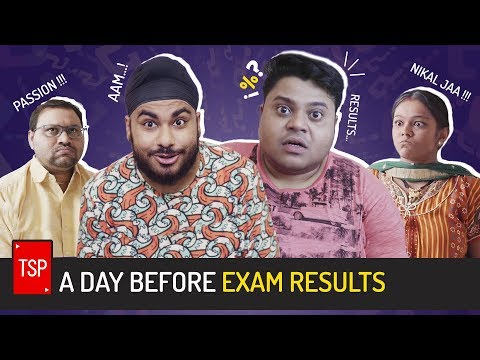 TSP's A Day Before Exam Results