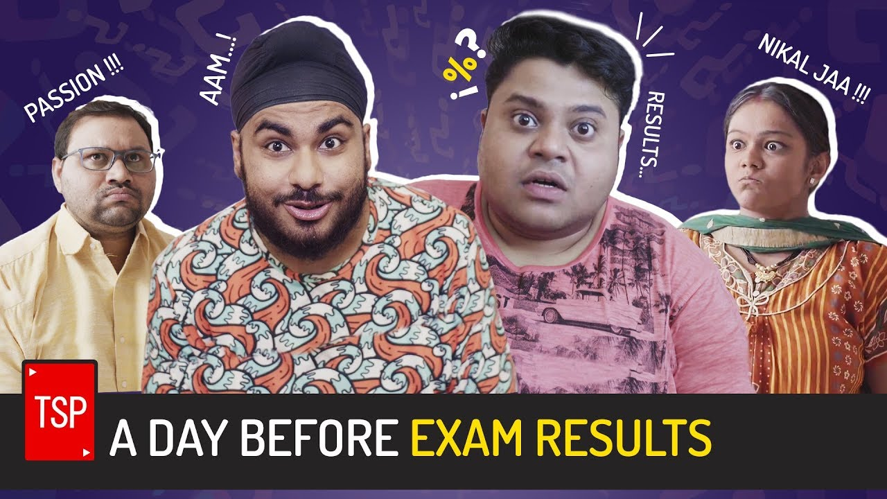 Download TSP's A Day Before Exam Results
