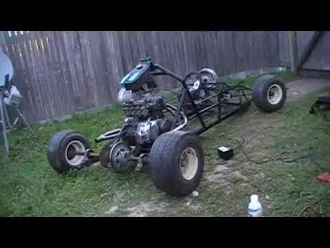 350cc Honda Monster Go-Kart Start Up