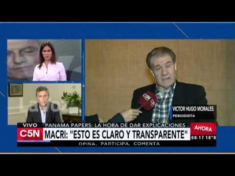C5N - Panama Papers: La mirada de Victor Hugo Morales