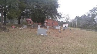 Slave cemetery, church and plantation tour