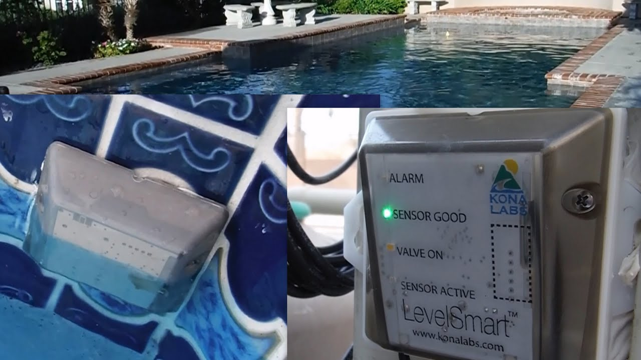 Maintaining the Proper Water Level in Your Pool with The LevelSmart ...