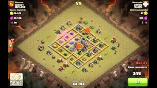 Clash of Clans - Strategie - Mongolfiere