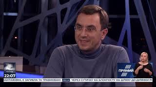 Програма Прямий контакт з Тарасом Березовцем від 9 жовтня 2019 року. Володимир Омелян і Карл Волох