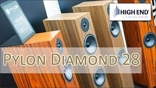 High End 2016: Pylon Audio Diamond 28 - hands on