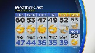 CBS2 10/22 Forecast at 11:00 P.M.