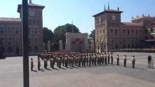 Himno Academia general Militar (Entrega de alfereces)