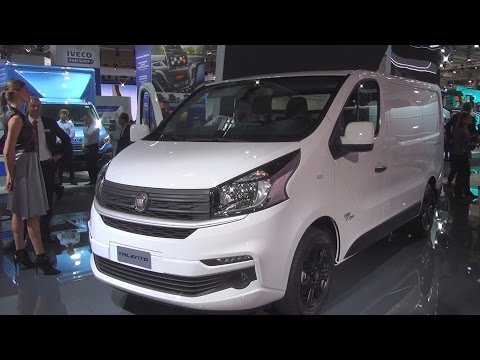 Fiat Talento 125 EcoJet Panel Van (2017) Exterior and Interior in 3D